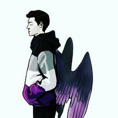 Supernatural Castiel Asexual Fanart