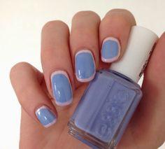 framed nails #nails #nailart #blue http://www.emotion-wizard.com/2014/05/nailstorming-framed-nails.html