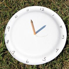 Make a Paper Plate Sundial | Community Post: 25 Paper Plate Crafts Kids Can Make