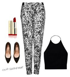 """Untitled #3441"" by adi-pollak ❤ liked on Polyvore featuring Wilfred, H&M and Topshop"
