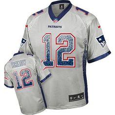 Buccaneers Gerald McCoy 93 jersey Nike Patriots #12 Tom Brady Grey Men's Stitched NFL Elite Drift Fashion Jersey Steelers Le'Veon Bell 26 jersey Packers Ha Ha Clinton-Dix jersey
