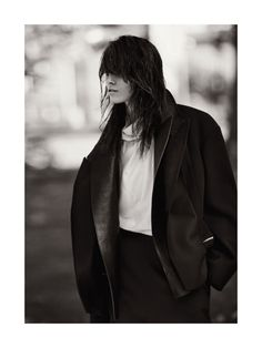 because the night calls patti: melissa stasiuk by nick dorey for russh december/january 12.13