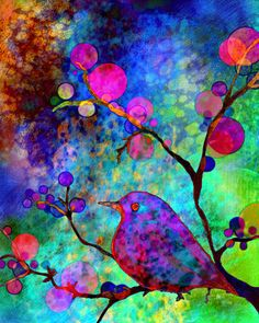 Enchantment ~ Robin Mead (watercolor/digital)
