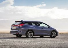 2014 Honda Civic Tourer Blue Rear Side View 600x429 2014 Honda Civic Tourer Full Review, Features and Quality