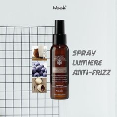 Spray Lumiere Anti-Frizz; Ultra Light Anti-Frizz Spray | Enriched with biocertified argan oil monoi oil acai berries and sunscreen it is ideal for frizzy and difficult hair. It disciplines hydrates and restructures the hair zeroing any frizz. Thanks to its easily absorbed non-greasy formula it is suitable for all types of hair while protecting from humidity and electrostatic effects! It also provides incredible shine and silkiness without weighing it down  . . . #nooksg #nook #nooksingapore… Argan Oil, Anti Frizz Spray, Acai Berry, Hair Health, Sunscreen, Nook, Berries, Nooks, Zug