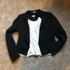 Candies Black Blazer Worn once. Great condition. Candie's Jackets & Coats Blazers