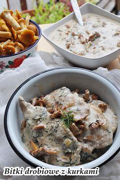 Bitki drobiowe z kurkami. Kurczak w sosie kurkowym. My lubimy proste, mięsne dania kuchni polskiej! Przepis jest bardzo prosty, a składniki ogólnie dostępne o tej porze roku. Wystarczy kupić piersi kurczaka, które idealnie nadają się na bitki drobiowe. A po kurki … Czytaj dalej →
