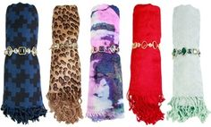 Groupon - Women's Scarf and Bracelet Gift Set in [missing {{location}} value]. Groupon deal price: $19.99