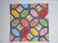Nellie's Knots - Free PDF foundation piecing templates. Check out the tesselated star as well . Wow!  j.s.