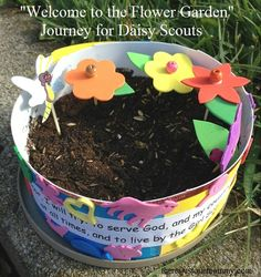 activity for Welcome to the Flower Garden journey for Daisy Girl Scouts