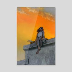 All the Above, an art acrylic by John Larriva Inprnt, Acrylic Prints, Oil Painting, Acrylic, Acrylic Art Print, Giclee Art Print, Art, Art Reference, Sunset Painting