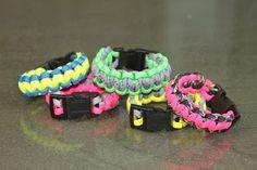 Show Me Cute... D.I.Y paracorde bracelets.