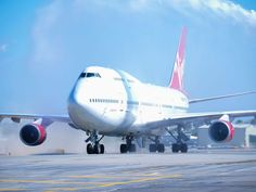 Virgin Orbits Cosmic Girl 747 jet moves closer to rocket launches