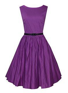 Anni Coco Women's Vintage 1950s Rockabilly Swing Dresses Purple X-small Anni Coco http://www.amazon.com/dp/B00VUXHUJ0/ref=cm_sw_r_pi_dp_uRlnvb1ZYSS2T