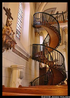 Loretto Mysterious Staircase, Spiral staircases are my favorite