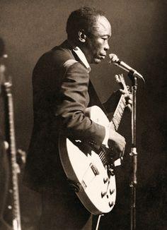 Mr. John Lee Hooker. Photography by Bill Wyman of The Rolling Stones.