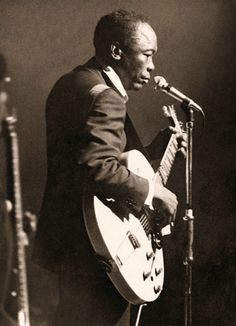 Mr. John Lee Hooker. Photography by Bill Wyman of The Rolling Stones.