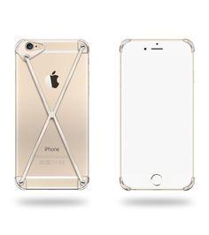 """RADIUS RADIUS 6 ALL GOLD X  Details : ・iPhone本来の美しさを活かすミニマムデザインを目指した新しいコンセプトのiPhone 6 専用ケース/カバー、RADIUS case(ラディアスケース)。  ・より薄く、最小限のフレームでAppleのデザイナーが創造した形、iPhoneの持つ機能をなるべく邪魔せず且つ本来のデザインや質感を直接感じることができるように工夫されています。素材はこだわりの6061アルミニウムを削り出し加工しています。 ・2012年にカルフォルニアのサンノゼで設立された少数精鋭のデザイナー と企業家の集団""""mod-3""""によるプロダクトです。 カラーはAll Gold X、All Polished X、All Slate Xの3色から。"""