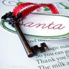 key for Santa