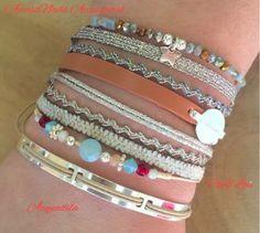 #bijoux #argent et #PierreSemiPrecieuse #CloEtLou #bracelet #cuir et argent #acquadila #jewels #silver #stone #fashion #girls #follow #AccessNails #EnghienLesBains