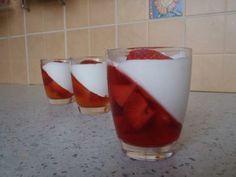 Recept: Smetanové poháry se želatinou