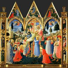 Descent from the cross, ca - (Fra Angelico)