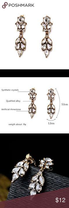 🆕Jolie Earrings Brand new Jolie Earrings! Part of my jewelry shop Le'Luks 💜 Jewelry Earrings