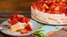 Grant's Strawberry Shortcake Ice Box Cake Recipe