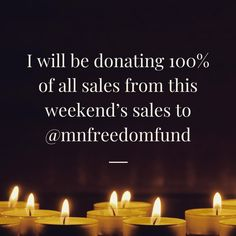 I will be donating everything from my sales this weekend to Minnesota Freedom Fund. If there's anything you've been eyeing in my shop or you are in the mood to treat yourself, your purchase will help this important organization fighting against Minnesota's unjust bail system. All orders placed through 11pm tomorrow (Sunday) will go directly to this cause. I also have quite a few hand sanis left, so you can stock up on your faves while supporting important work. Thank you in advance for…