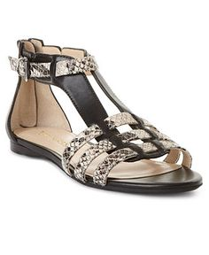 love this! Enzo Angiolini Shoes, Pandi Flat Sandals - Sandals - Shoes - Macy's