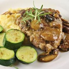 Veal Chop with Portabello Mushrooms, photo by naples34102