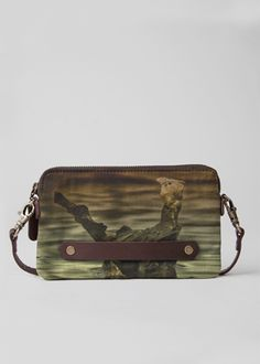 Leather Statement Clutch - lifemoon1 by VIDA VIDA bid1k2Yi