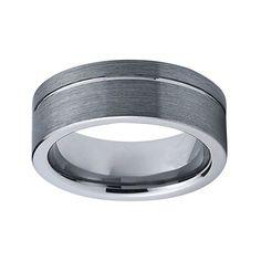 CORVIN - pánsky WOLFRÁMOVÝ prsteň - matovaný výbrus - veľkosť: 65 Tungsten Carbide Rings, Promise Rings, Titanic, Wedding Ring Bands, Lapis Lazuli, Rings For Men, Silver Rings, Engagement Rings, Gold