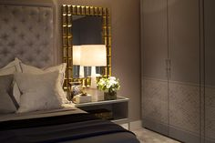 Hyde Park Luxury Apartment - Bedroom Detail - Interior Design by Intarya – Interior Design by Intarya