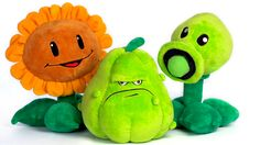 Official Plants vs. Zombies toys from PopCap
