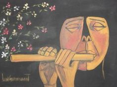 Music - Oswaldo Guayasamin ( Ecuador - 1919/1999 )