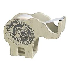 A tape dispenser that won't end up in your junk drawer. | 36 Adorable Products That Every Elephant Lover Will Appreciate
