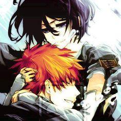 ichigo and rukia …