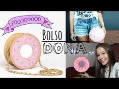 Tutorial: Bolsito DIY en Forma de Dónut/ Dona  - YouTube