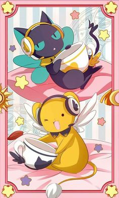 Spinny and Kero-chan