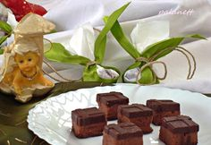 Gesztenyés szaloncukor Pudding, Place Card Holders, Homemade, Chocolate, Eat, Desserts, Recipes, Food, Advent
