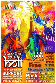 Holi Poster Holi Poster, India House, Festival Posters, Fun, Movie Posters, Film Poster, Billboard, Film Posters, Hilarious