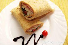 Light Συνταγές: Ένα χορταστικό, υγιεινό σάντουιτς σε πίτα!