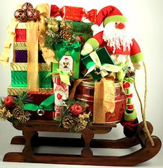 Diabetic candy christmas gift tower sugar free want to know dashing through the snow deluxe christmas gift basket negle Image collections