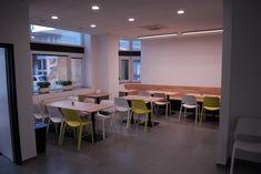 Realizace jídelna Conference Room, Table, Furniture, Home Decor, Decoration Home, Room Decor, Tables, Home Furnishings, Home Interior Design