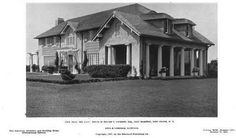 'Little Burlees', the Edward T. Cockcroft estate designed by Albro & Lindeberg c. 1905.