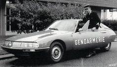 Citroen SM Gendarmerie