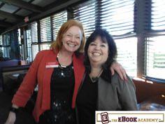 Branding expert Liz Goodgold (left), and Andrea Susan Glass, The Ebook Academy