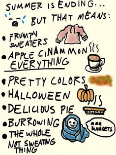 Cozy sweaters! Apple cinnamon everything! That whole not sweating thing! Only some of the reasons i absolutely LOVE autumn.