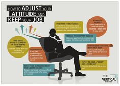 How to adjust your #attitude and keep your #job